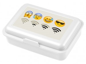 Lunch Box Emoji Wifi