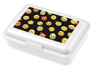 Lunch Box Emoji Black
