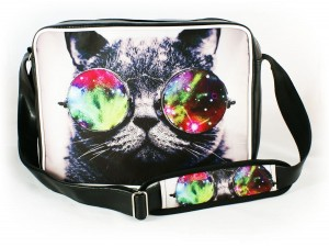 Torba na ramię Galaxy Sunglasses Cat
